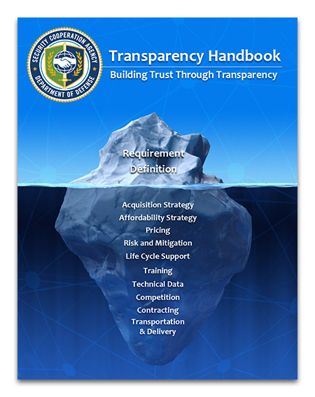 2017 DSCA Transparency Handbook Cover
