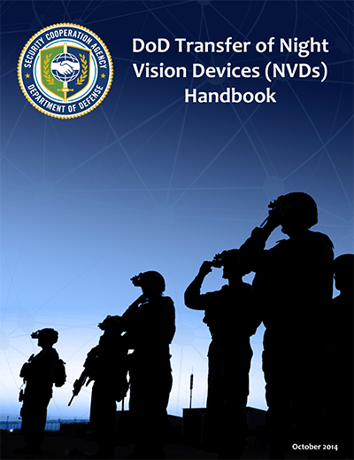 DoD Transfer of Night Vision Devices Handbook Cover
