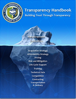 DSCA Transparency Handbook front cover