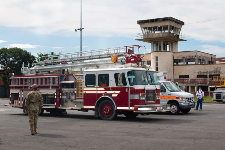 Firetrucks for Nicaragua
