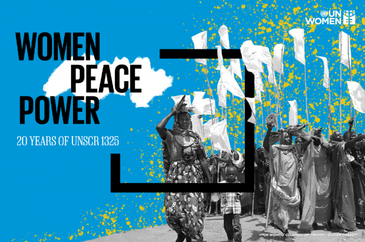 October 31, 2000 month marks the 20th Anniversary of the landmark United Nations Security Council (UNSCR) Resolution 1325 on women, peace and security (WPS).